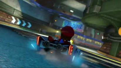 Mario Kart 8 - DLC Pack 2 Super Bell Subway Trailer