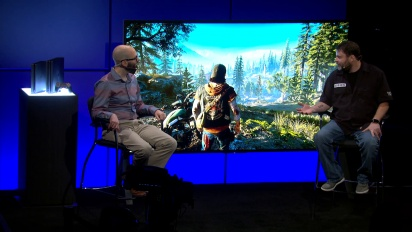 Days Gone - Playstation Meeting Gameplay plus Interview Chris Reese