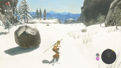 The Legend of Zelda: Breath of the Wild - 20 Minutes Live gameplay with Eiji Aonuma and expert player