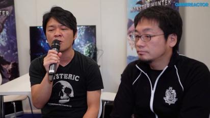Monster Hunter: World - Ryozo Tsujimoto & Kaname Fujioka Interview