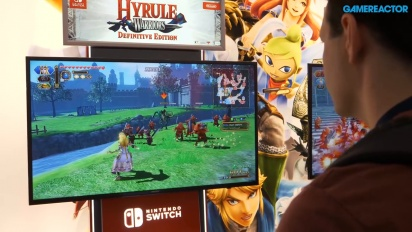 Hyrule Warriors: Definitive Edition - PAX 2018 Gameplay