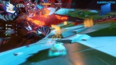 Team Sonic Racing - Hidden Volcano Ring Challenge Gameplay