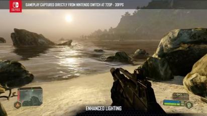 Crysis Remastered - Nintendo Switch Tech Trailer