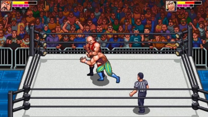 RetroMania Wrestling - Official Game Trailer for the sequel to WrestleFest!