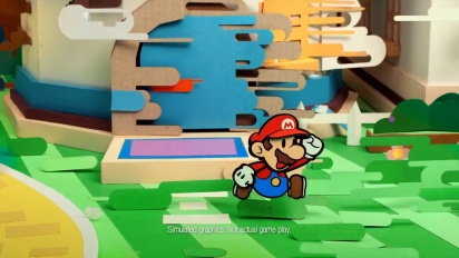 Paper Mario: Sticker Star - TV Commercial